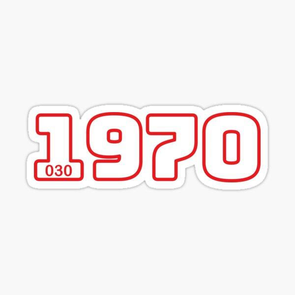 Born in 1970 Sticker
