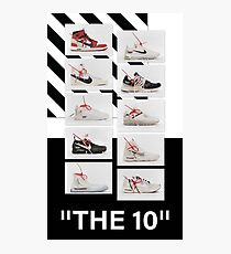 """""""The 10:"""" Off-White - T-Shirts and Stuff Photographic Print"""
