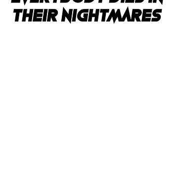 everybody dies in their nightmares- xxxtentacion by hood112