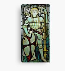 Saint George the Dragon Slayer Canvas Print