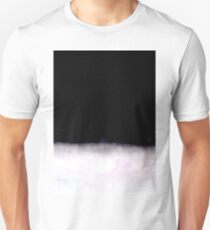 black and white abstract painting in minimal style Unisex T-Shirt