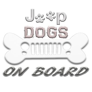 Jeep Dogs On Board by panzerfreeman