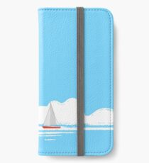 Sail Away With Me - blue version iPhone Wallet/Case/Skin