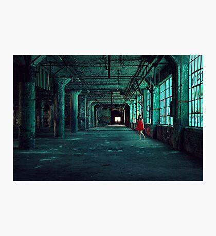The Green Hallway Photographic Print