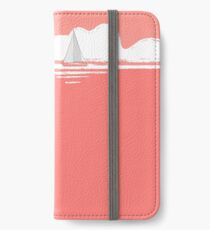 Sail Away With Me - coral version iPhone Wallet/Case/Skin
