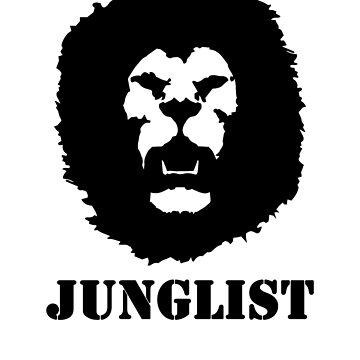 Junglist Lion Drum & Bass Jungle by SoulVisible