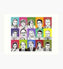 The Office Cast Art Print