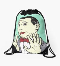 Pee Wee Herman Drawstring Bag