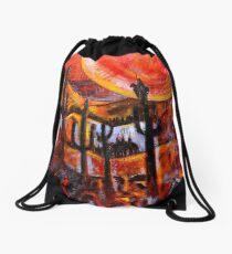 In Search of El Dorado Drawstring Bag