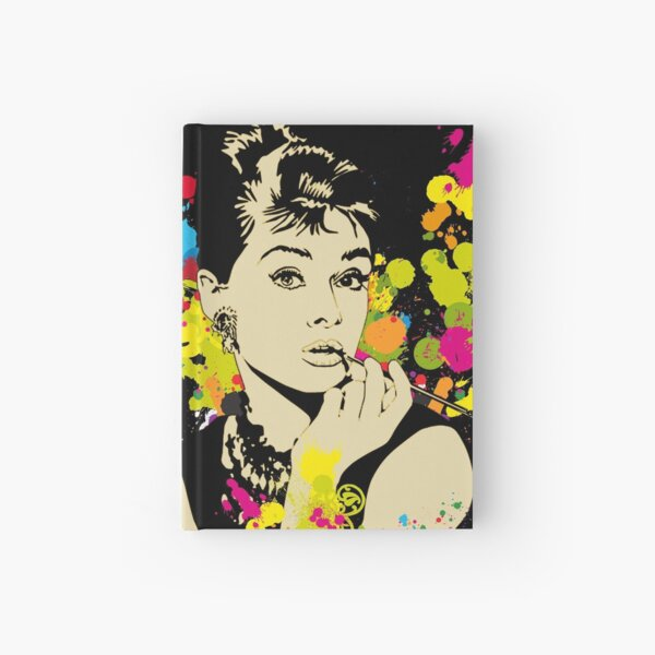 Audrey Hepburn Hardcover Journal