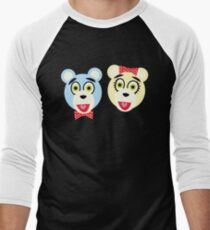 Camiseta ¾ estilo béisbol Ave Q - Bad Idea Bears