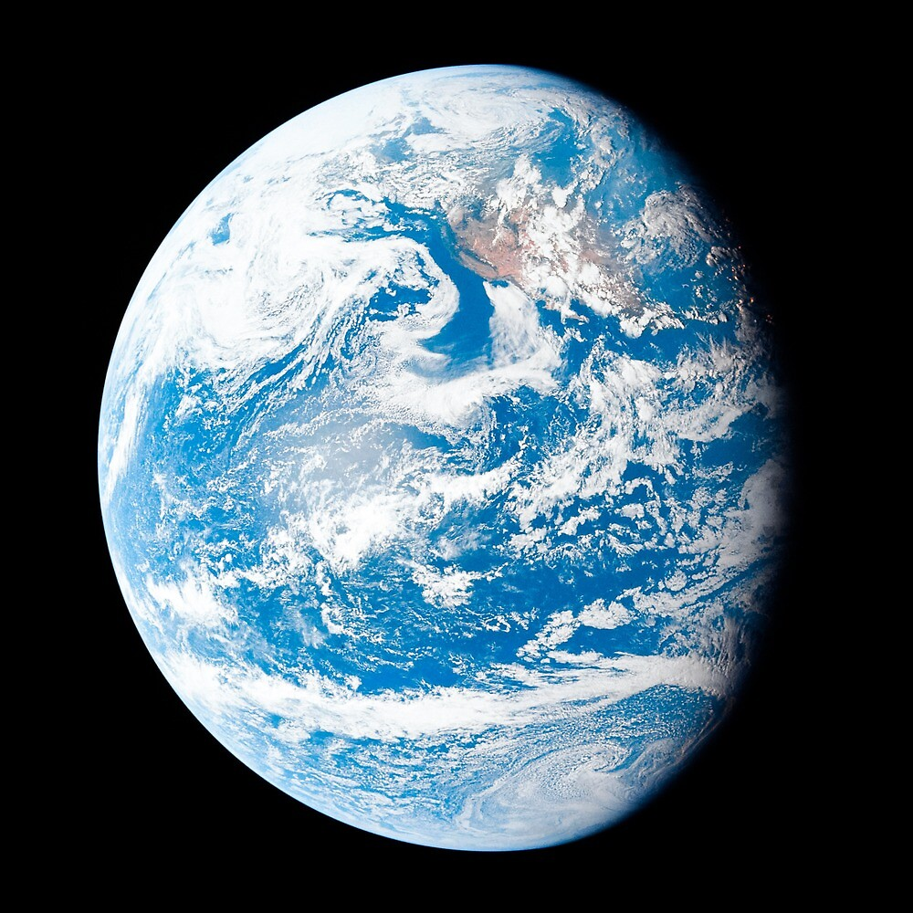Earth by Space Prints