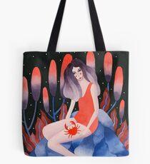 Zodiac - Cancer astrology illustration Tote Bag