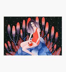 Zodiac - Cancer astrology illustration Photographic Print