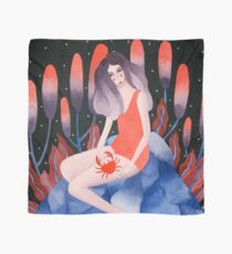 Zodiac - Cancer astrology illustration Scarf