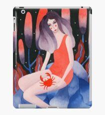 Zodiac - Cancer astrology illustration iPad Case/Skin