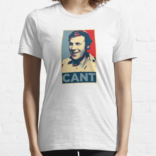 YES WE CANT: Barack Obama styled poster Essential T-Shirt
