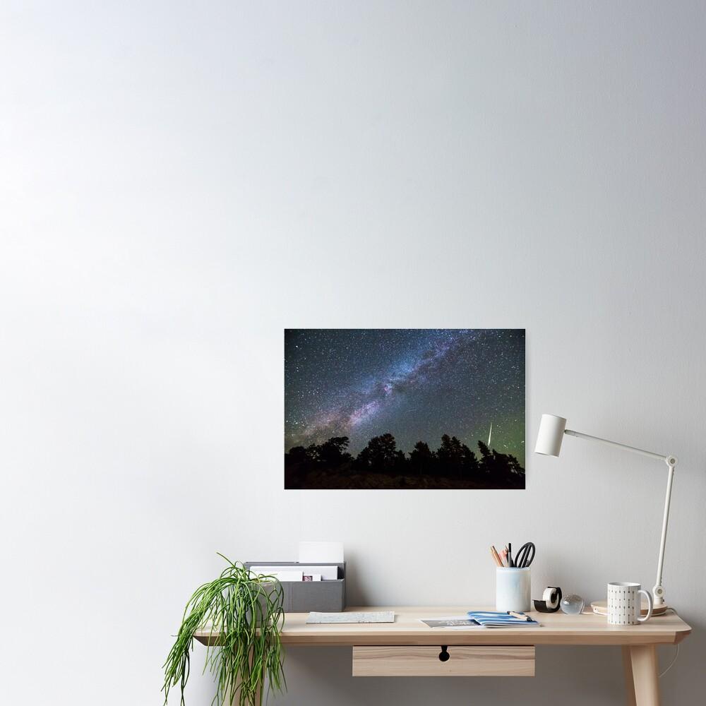 Perseid Meteor Poster