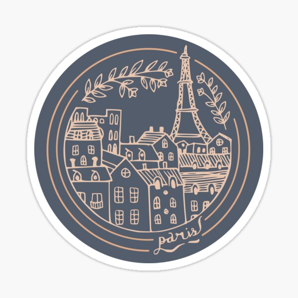 Paris! Sticker