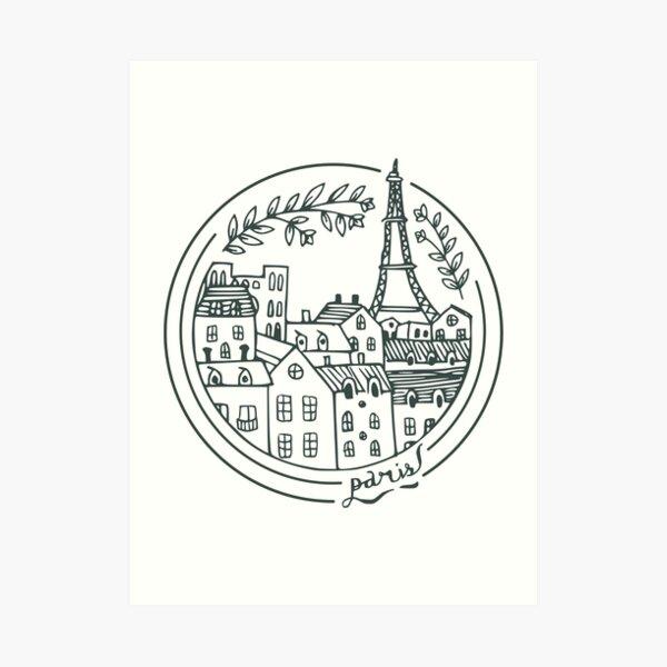 Paris! Kunstdruck