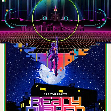 Ready Player One poster by rubiohiphop