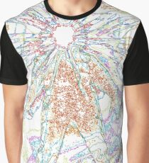 The Thing - Rainbow Layer Outline Graphic T-Shirt