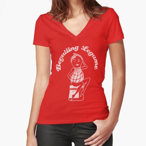 Beguiling Legume t-shirt Fitted V-Neck T-Shirt