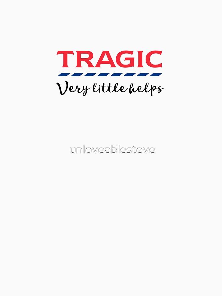 TRAGIC - Very little helps  by unloveablesteve
