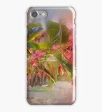 Begonias iPhone Case/Skin