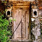 A Door in Sanur .. 2  by Mike  Waldron