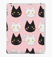 Cat Party - Salem and Ren (fish) iPad Case/Skin