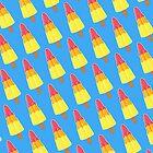 Rocket ice Pops by Stephanie Keyes