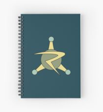 The Council of Ricks - Rick and Morty Spiral Notebook
