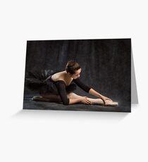 Dancer in Low Key Greeting Card