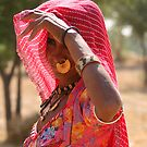Village woman  by pennyswork