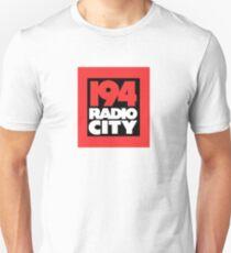 Radio City 194 Liverpool local independent radio logo Unisex T-Shirt
