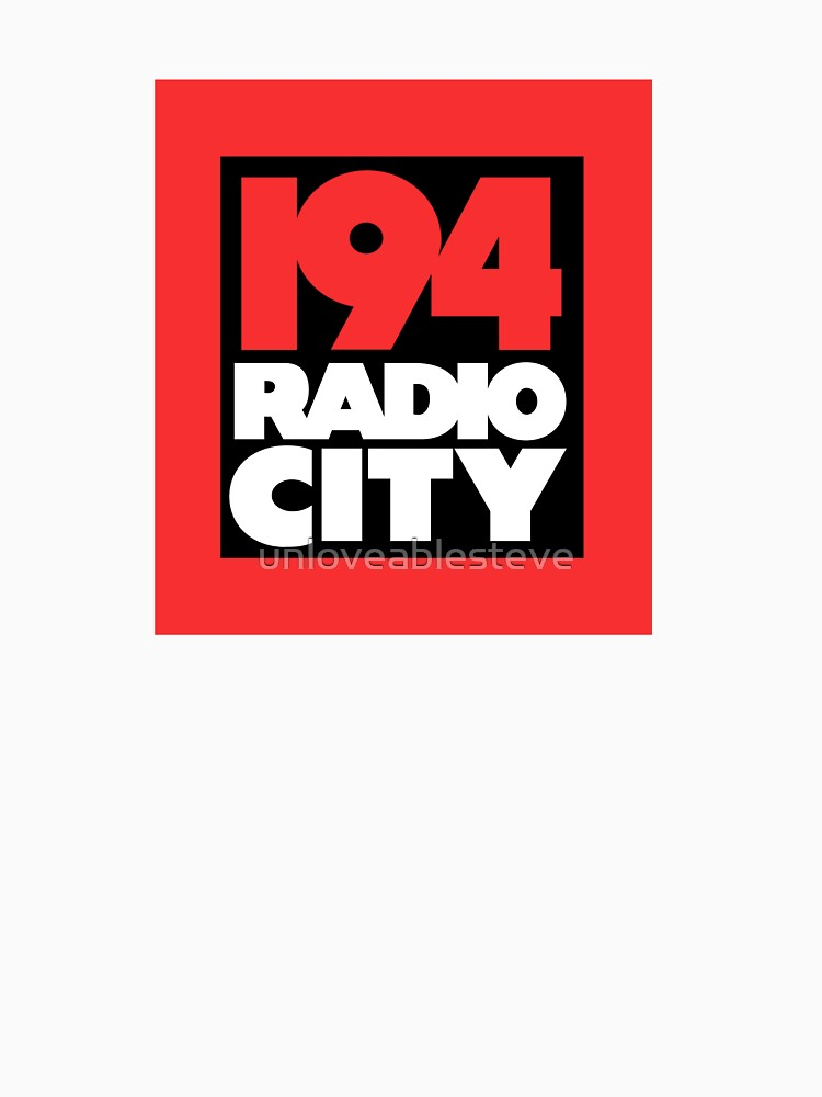 Radio City 194 Liverpool local independent radio logo by unloveablesteve