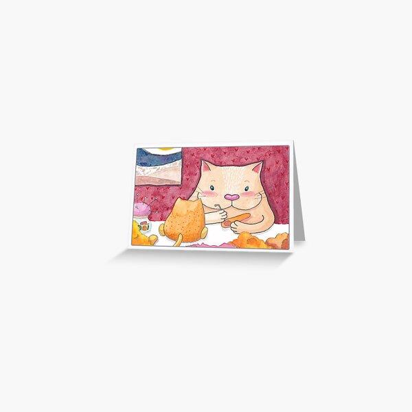 Creative Kitty Greeting Card