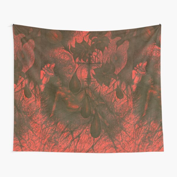 Red Hell Tapestry