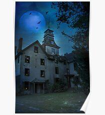 The Mansion at Batsto Village Poster