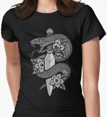Snake & Dagger Women's Fitted T-Shirt