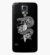 Snake & Dagger Case/Skin for Samsung Galaxy