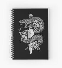 Serpent et Dague Cahier à spirale