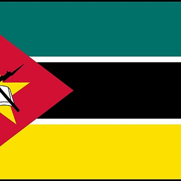 Mozambique - National Flag - Current by CrankyOldDude