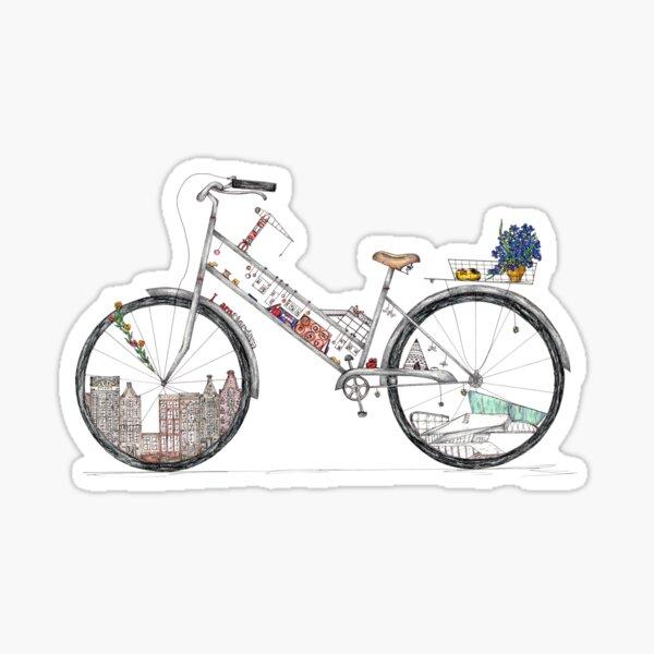 An Impression of Amsterdam Sticker