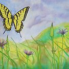 Western Slope Butterfly by Bryan Duddles