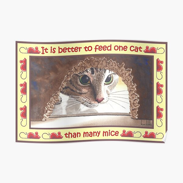 One Cat Poster
