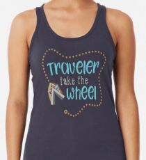 Traveler Take the Wheel Racerback Tank Top
