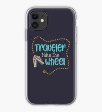 Traveler Take the Wheel iPhone Case