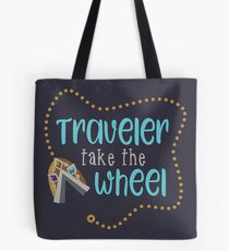 Traveler Take the Wheel Tote Bag